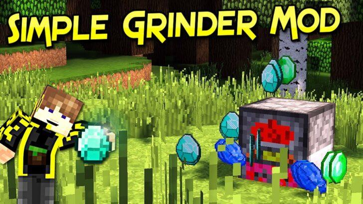 Simple Grinder [1.14.4] [1.13.2] [1.12.2] (дробилка)