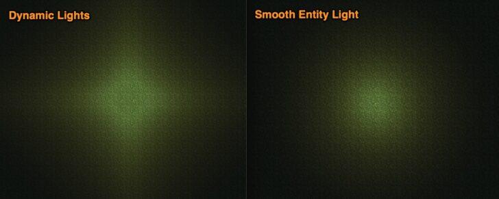 Smooth Entity Light [1.12.2] [1.7.10] (реалистичное освещение)