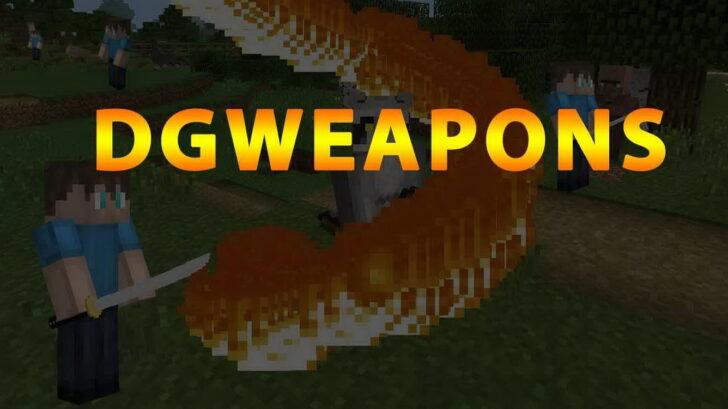 DGWeapons - 3D постапокалиптическое оружие [1.12.2]