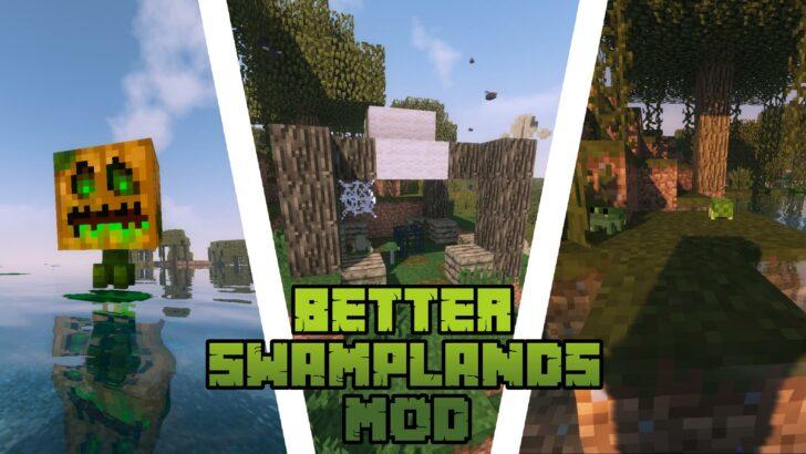 Traitor's Better Swamplands [1.14.4] [1.12.2] (улучшенные болота)