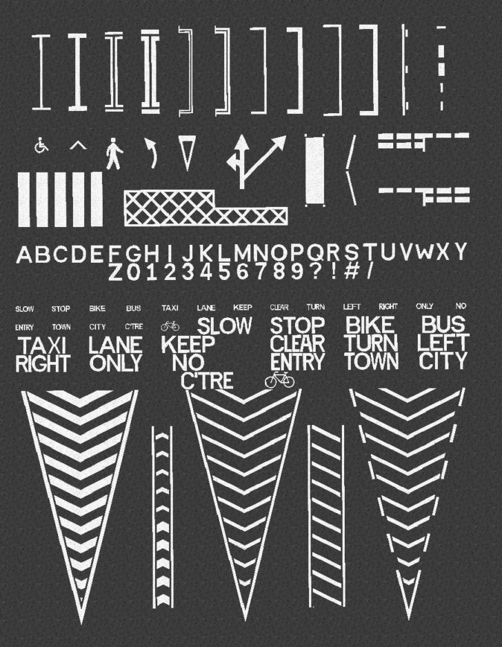 Fureniku's Roads - асфальтовая дорога и разметка [1.12.2] [1.7.10]