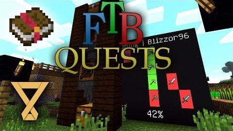 FTB Quests [1.12.2] - создание квестов в Майнкрафт