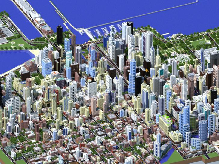 Карта город Чикаго [1.14.4] [1.13.2]