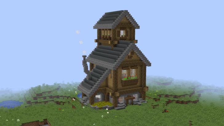 Маленький деревенский дом [1.13.2]