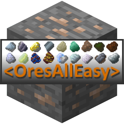 OresAllEasy [1.14.4] [1.12.2] (объединение руд и металлов из разных модов)