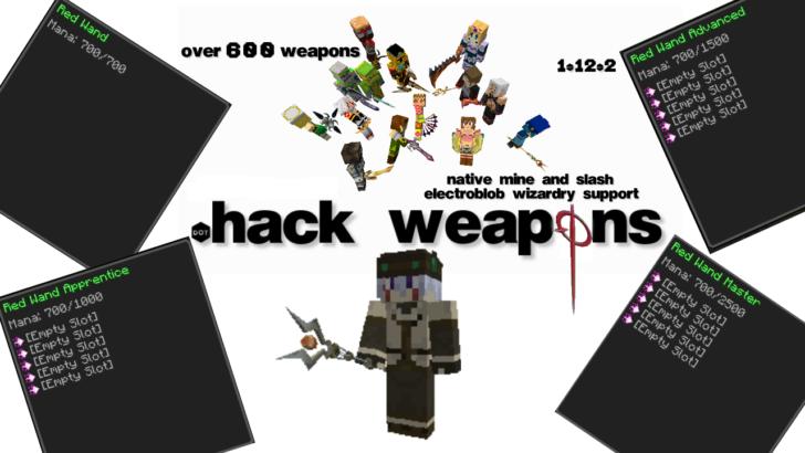 dotHack Weapons [1.12.2] -  600 видов оружия с реалистичными моделями