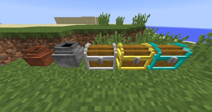 Cave Expansion [1.12.2] (40 структур с сокровищами)