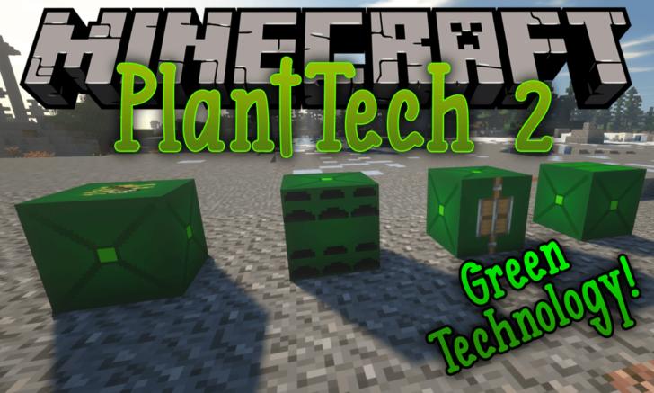 PlantTech 2 [1.14.4] [1.12.2] (выращивание ресурсов)