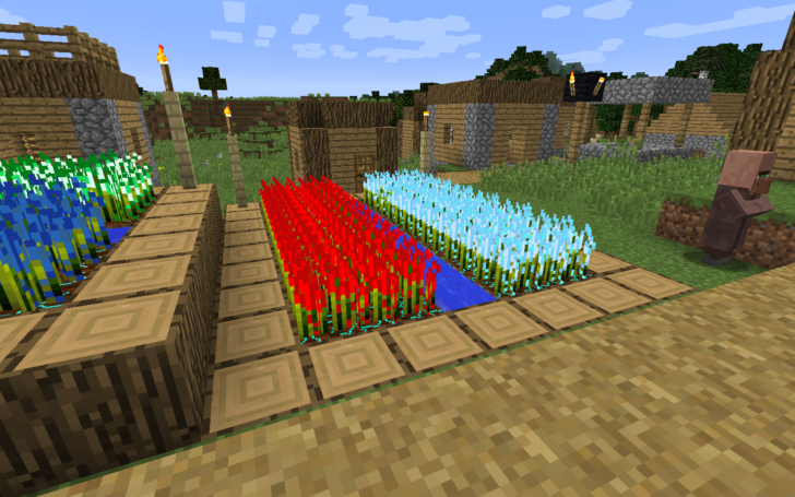 Resynth [1.14.4] [1.13.2] [1.12.2] - выращивание руды и алмазов