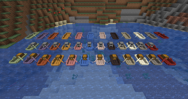 Extra Boats [1.14.4] (новые виды лодок)