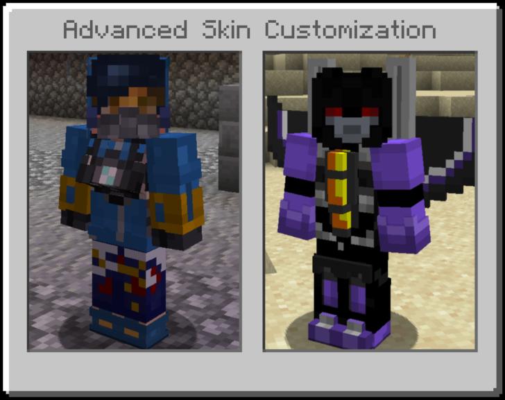 Advanced Skin Customization [1.14.4] [1.12.2] (кастомизация персонажа)