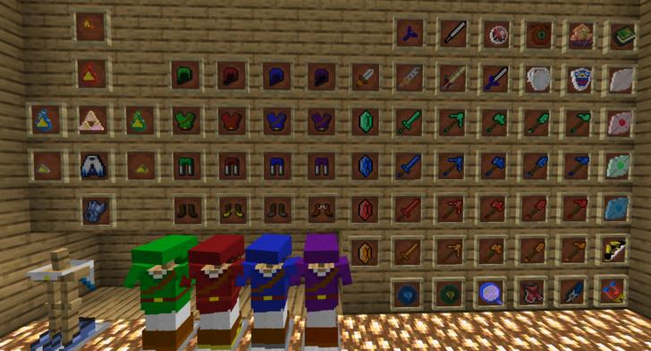 SupersLegend [1.14.4] (The Legend of Zelda в Майнкрафт)