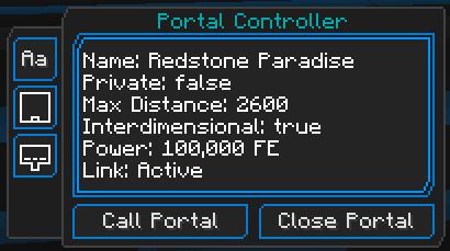 Portality [1.14.4] [1.12.2] (порталы для игроков и предметов)