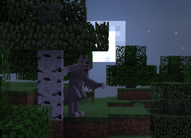 Hunter's Dream [1.12.2] (охота на оборотней)