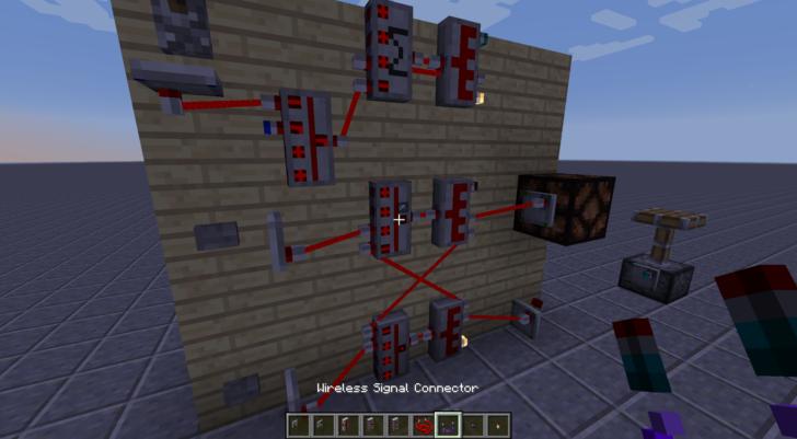 Redstone Control [1.12.2] (редстоун провода)