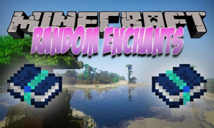 Random Enchants [1.14.4] [1.12.2] (новые чары для зачаровывания)