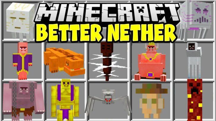 BetterNether [1.12.2] (улучшенный нижний мир)