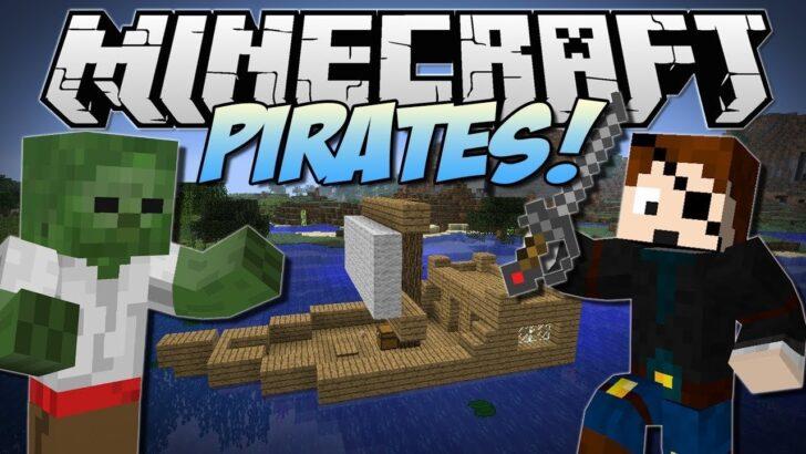 Pirates [1.12.2] (мод на пиратов в Майнкрафт)